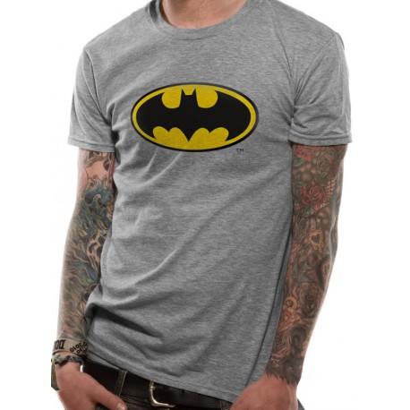 Camiseta Batman Logo Clásico Gris por solo 16 01e5d41666ace