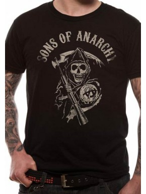 Camiseta Sons of Anarchy Logo Reaper