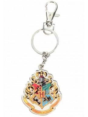 Llavero metal Hogwarts Escudo con Mosquetón