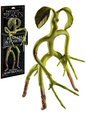 Figura maleable Bowtruckle 18 cm The Noble Collection