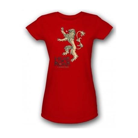 Camiseta Chica Lannister Juego de Tronos