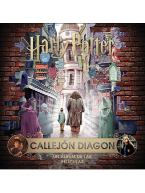 Libro J.K. Rowling's Wizarding World: Callejón Diagon Harry Potter