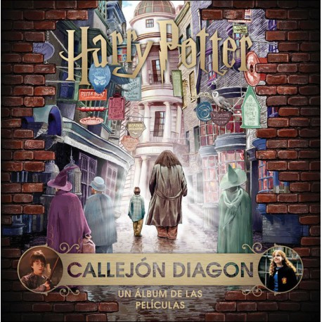 Libro J.K. Rowling's Wizarding World: Callejón Diagon Harry Potter