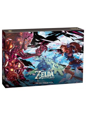 Puzzle Zelda Breath of the Wild Vah Medoh 750 piezas