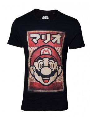 Camiseta Super Mario Vintage Poster