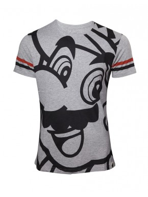 Camiseta Super Mario face