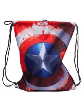 Bolsa Mochila gimnasio Capitán América Marvel