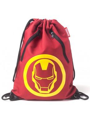 Bolsa Mochila gimnasio Iron Man Marvel