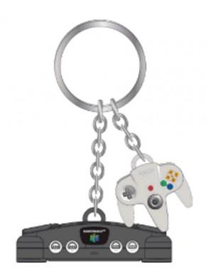 Llavero caucho 3D Nintendo 64