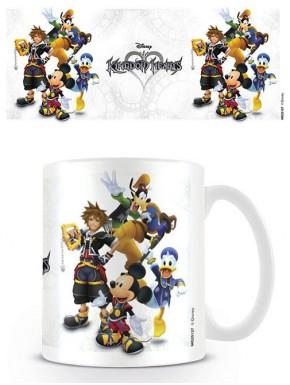 Taza Kingdom Hearts Personajes