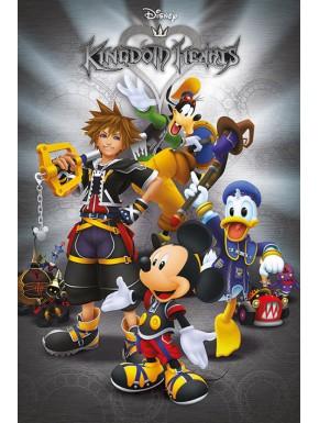 Póster Kingdom Hearts Personajes