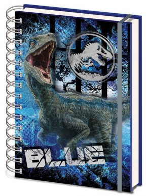 Libreta Cuaderno A5 Jurassic World El Reino Caido