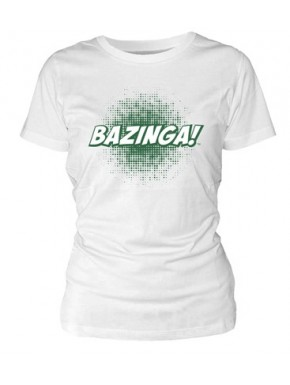 Camiseta chica Big Bang Theory Bazinga