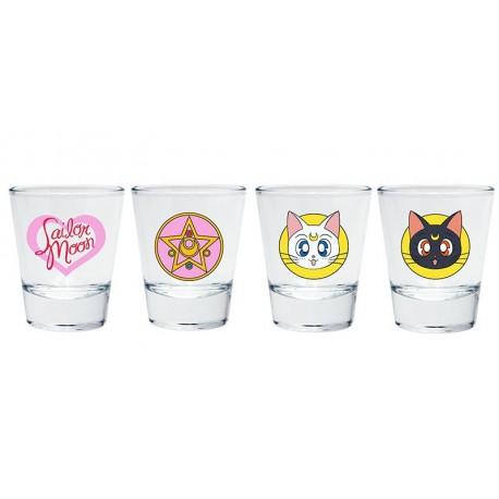 Vasos Chupito Sailor Moon Iconos