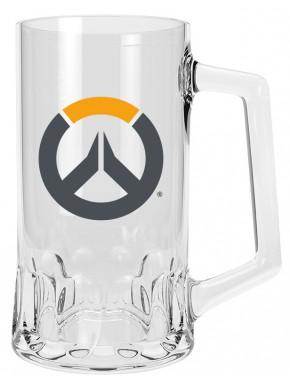 Jarra de Cerveza Overwatch Logo