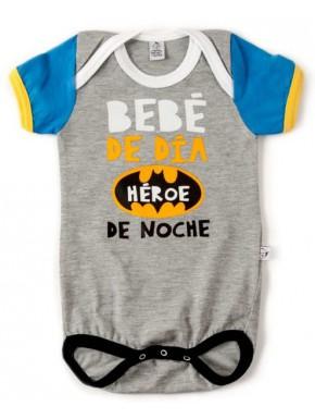 Body bebé Batman Bebé de Día, Héroe de Noche