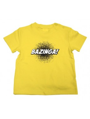 Camiseta niño Big Bang Theory Bazinga