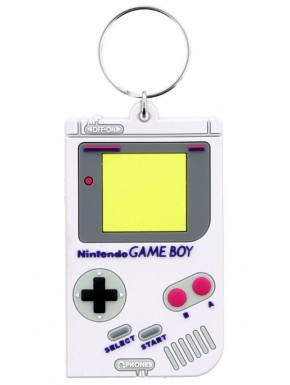Llavero caucho Game Boy 6 cm