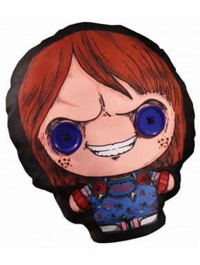Cojín Muñeco Chucky Mezco Toys 30 cm