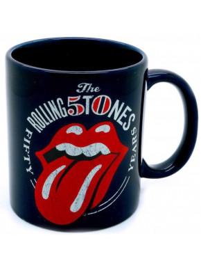 Taza Rolling Stones 50 Aniversario Logo