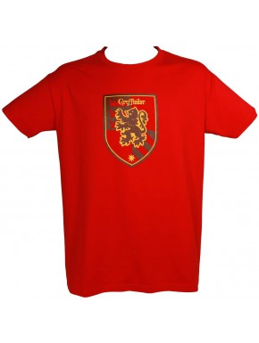Camiseta Harry Potter Gryffindor Roja
