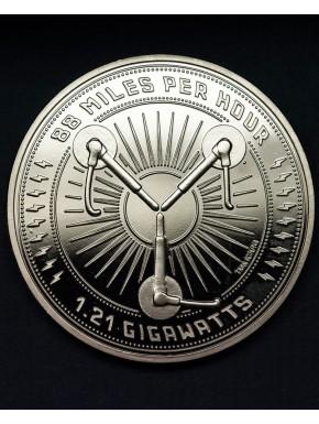 Réplica Moneda Regreso al Futuro 25 Aniversario