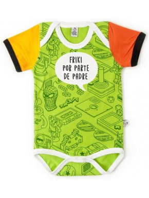 Body bebé Papi es un Friki