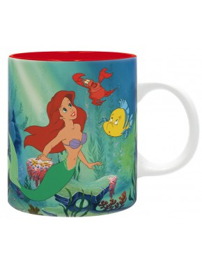 Taza La Sirenita Disney Bajo el Mar