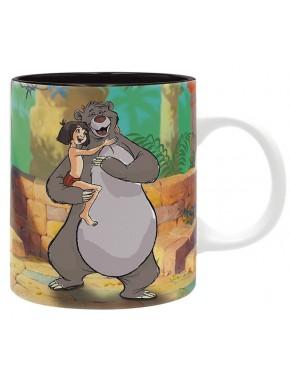 Taza El Libro de la Selva Baloo y Mowgli