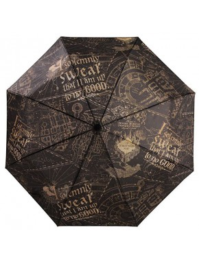 Paraguas Harry Potter Mapa del Merodeador