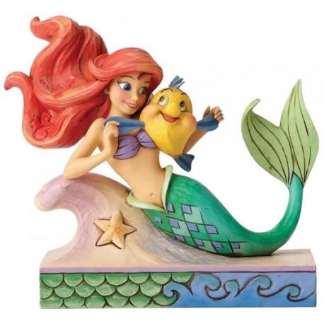 Figura Disney La Sirenita Jim Shore 13 cm Fun and Friends