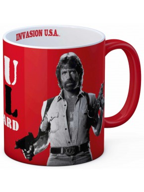 Taza Chuck Norris See You in Hell