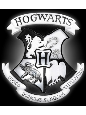 Lampara Harry Potter Hogwarts Escudo 3D