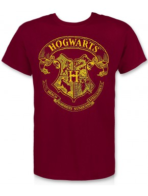 Camiseta Harry Potter Hogwarts Crest Roja