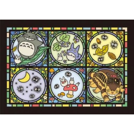 Puzzle Mi Vecino Totoro Art Crystal Forest