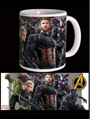 Taza Vengadores Infinity War Marvel Wakanda