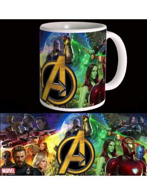 Taza Vengadores Infinity War Marvel Thanos