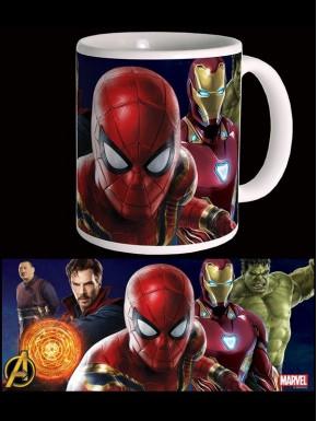 Taza Vengadores Infinity War Spider-Man