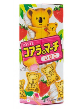 Snack Galletas de Fresa Koala Kawaii