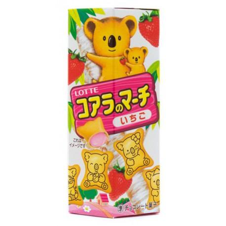 Snack Galletas de Fresa Koala Kawaii