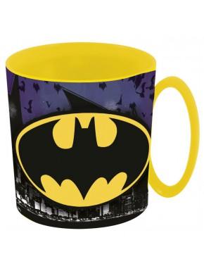Taza Batman Classic Logo Amarillo