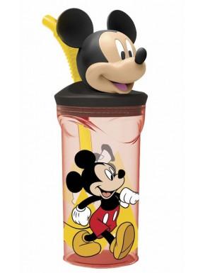Vaso con tapa y pajita Mickey Mouse 3D