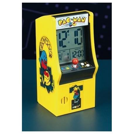 Reloj Despertador Máquina Arcade Pac-Man
