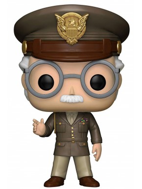 Funko Pop! Stan Lee Cameo Capitán América Exclusive Edition