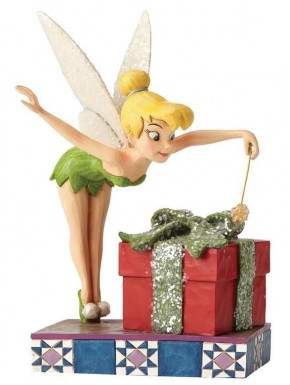Figura Disney Campanilla Jim Shore Pixie Dusted Present