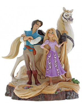 Figura Disney Rapunzel Jim Shore Live Your Dream Tangled