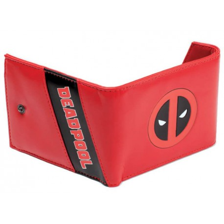 Cartera Deadpool Marvel Logo
