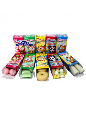 Set de chicles de 5 sabores Koris