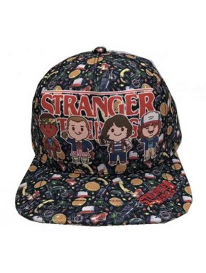Gorra Stranger Things characters
