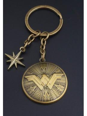 Llavero metálico Wonder Woman vintage